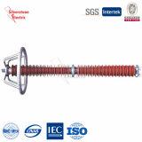35kv a 220kV Polímero ocupa Metal Oxide El descargador de sobretensión de alta brecha de la serie externa de la línea eléctrica (Serie YHC)