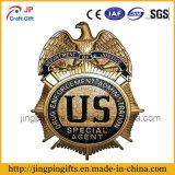 2016 fördernde kundenspezifische Metallpolizei Badge