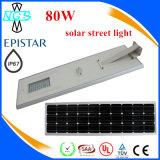 Réverbère solaire de LED, lampe extérieure de route