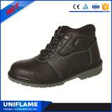 De lichte Schoenen Ufa008 van de Veiligheid van het Werk van het Leer van Mensen