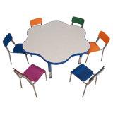 Cadeira de tabela Kindergarten&#160 do miúdo colorido; Mobília (KN-01)