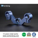 Pieza de encargo del aluminio del CNC de la alta precisión del ranurador del CNC