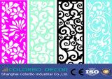 El nuevo panel de pared de la onda material de la decoración de la tarjeta
