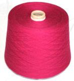 Lanas de los yacs del ganchillo de la materia textil de la tela de la alfombra que hacen punto/hilado blanco natural de las lanas de las Tíbet-Ovejas