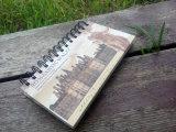 Offre en spirale de construction de cahier d'école de couverture par Factory (Bx0203)