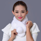 Mode Rex Rabbit Fur Scarf
