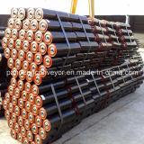 炭素鋼のベルト・コンベヤーのローラー/アイドラーローラー