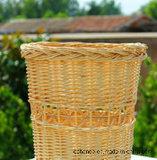 송풍하는 작풍 저장 등나무 바구니 구입