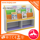 CE Certificated Wooden Book Shelf Used Library Bookcases для Kindergarten