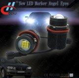 Ojos del ángel de la etiqueta de plástico de E39 45W 9LED 1800lm LED