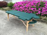 Sofá del masaje de la madera con el vector portable Mt-006s-3 del masaje de los accesorios llenos