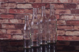 круглая стеклянная бутылка вискиа 700ml/750ml