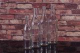 bouteille de whiskey 700ml/750ml en verre ronde
