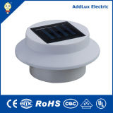 diodo emissor de luz Solar Panel Power Light de 2xaaa 1.2V Ni-MH 2W Daylight