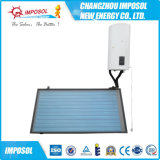 O novo tipo elevação pressurizou calefator de água solar rachado da placa lisa
