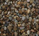 Pedra vermelha de pedra Polished do seixo