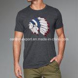 T-shirt d'hommes estampé par coton neuf de mode de type