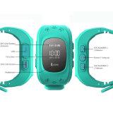Gelbert Q50 Sos GPSの追跡者は人間の特徴をもつIosのためのスマートな腕時計をからかう