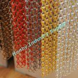 100% cortinas de alumínio de anodização da corrente do metal (WX30517B)