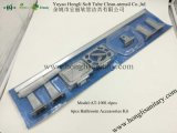 accessori della stanza da bagno del metallo dello zinco placcati bicromato di potassio at-1002, insieme della stanza da bagno