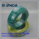 Grün 6 Quadrat-mm 500V kupferner Draht Belüftung-Insualted