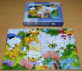 Magnete promozionale del frigorifero di puzzle dei 4 di colore regali di stampa