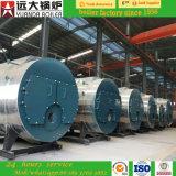 chaudière à vapeur allumée par Gas/LPG/CNG/LNG normale de chaudière à vapeur 1000kg/H avec la qualité
