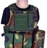 Maglia tattica di Airsoft di Molle della strumentazione militare tattica nera della maglia