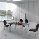 レストラン(HW-1108C)のための椅子を食事する楕円形の背部ステンレス鋼
