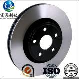 Disque de frein d'OEM pour les véhicules automatiques ISO9001