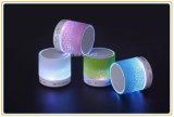Bunter heller mini beweglicher Bluetooth Lautsprecher LED-mit TF-Karte (ID6005)