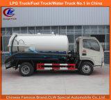 Vakuumsaugpumpe-LKW für Becken-LKW des Abwasser-5000liters