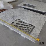 Тщета камня кварца Countertop ванной комнаты верхняя подгонянная