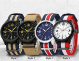 Do pulso de disparo militar de nylon luxuoso dos relógios de pulso do exército dos homens da cinta do tipo dos homens dos relógios do esporte Yxl-863 relógio masculino Relogio Masculino 2016 de quartzo