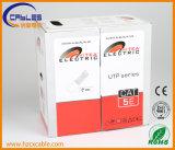Chaqueta doble del cable Cat5e UTP de la red