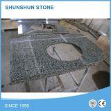 Parte superiore di marmo chiara cinese di vanità della stanza da bagno di Emperador Brown