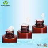 bouteilles 150ml cosmétiques en plastique ambres avec le pulvérisateur de pompe pour l'emballage cosmétique