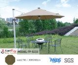 Ombrello esterno di lusso del giardino dello schermo di Sun con il LED