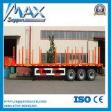 材木のトレーラーの木製の輸送のセミトレーラー