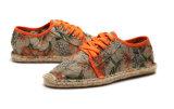 De comfortabele Toevallige Schoenen van de Mensen van de Hiel van de Stof van de Hennep Vlakke (M.D. 04)