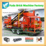 La machine de brique de remorque a pu piloter, machine de brique installent dans la remorque