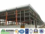 Edificio verde de la construcción de la estructura de acero