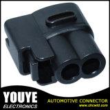 640605-5 PA66 Ket 2 Pinワイヤー馬具の女性の防水自動コネクター