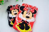 3D iPhone 6 (XSD-060)のためのかわいいミニーマウスの動物の柔らかいシリコーンの電話箱