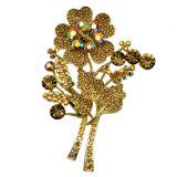 Brooch novo VAG63020 das senhoras dos Brooches do estilo do Brooch da flor da pintura da cor de VAGULA
