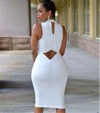 Цветы OEM 7 плюс платье женщин размера сексуальное Slimming