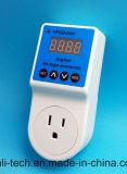 LED 디지털 표시 장치 15A를 가진 자동적인 힘 전압 프로텍터 저희 소켓