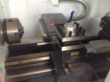高い剛性率CNCの金属の旋盤機械、精密旋盤