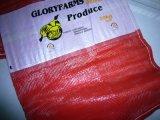 Мешок сплетенный цветом для удобрения