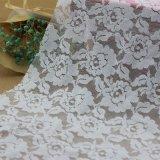 衣服および服装のための花柄の刺繍ファブリックレース